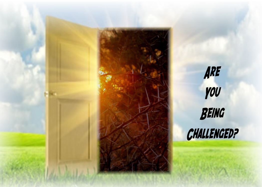Are You Being Challenged?