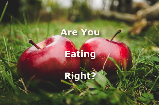 Are You Eating Right?