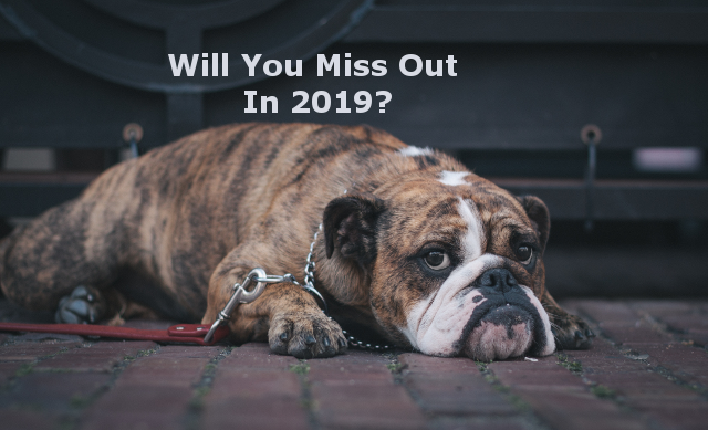 Will You Miss Out In 2019?